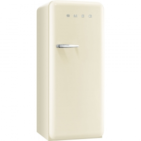 Smeg 50'S Style Refrigerator with ice compartment, Cream, Right hand hinge
