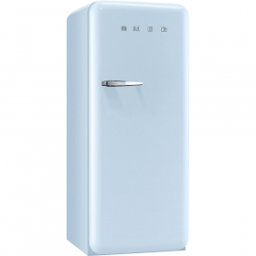Smeg 50'S Style Refrigerator with ice compartment, Pastel blue, Right hand hinge
