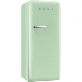 50'S Style Refrigerator with ice compartment, Pastel green, Right hand hinge