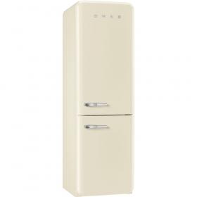 50'S Retro Style refrigerator with automatic freezer, Cream, Right hand hinge
