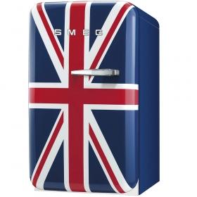 Smeg 50's Retro Style Mini Refrigerator, Union Jack, Left hand hinge