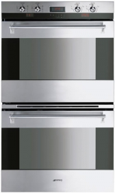 """Smeg 76CM (30"""") """"Classic"""" Electric Multifunction Double Oven Stainless Steel"""