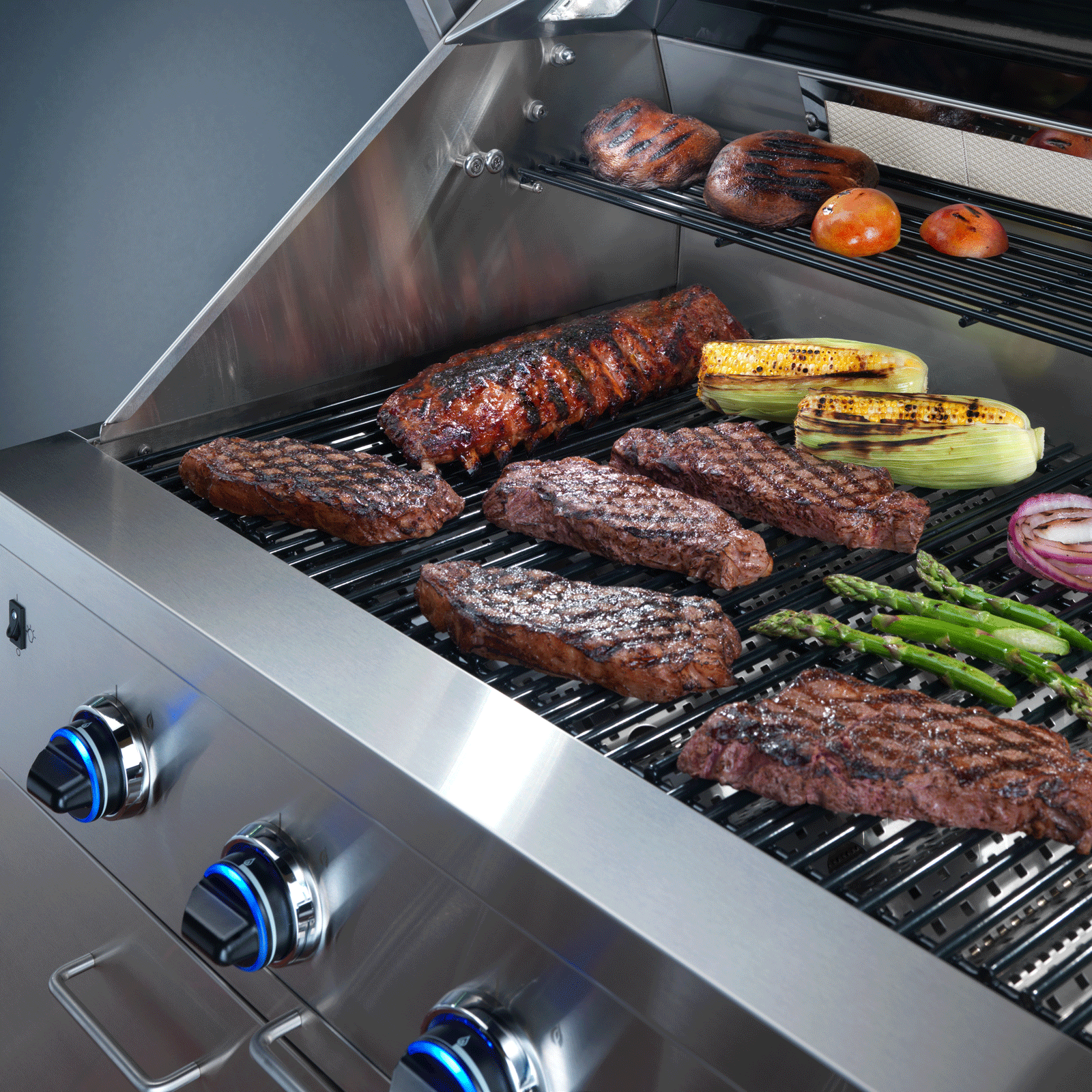 "Model: OBS36/NG | Dacor Heritage 36"" Outdoor Grill, in Stainless Steel with Chrome Trim, includes Sear Burner, NG"