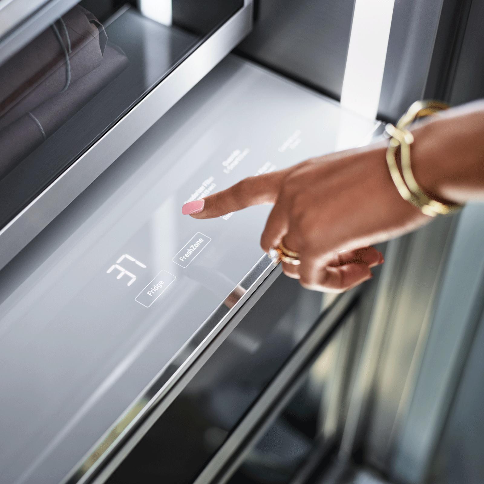"Model: DRR36980LAP | Dacor 36"" Refrigerator Column, Panel-Ready, Left-Hinge"