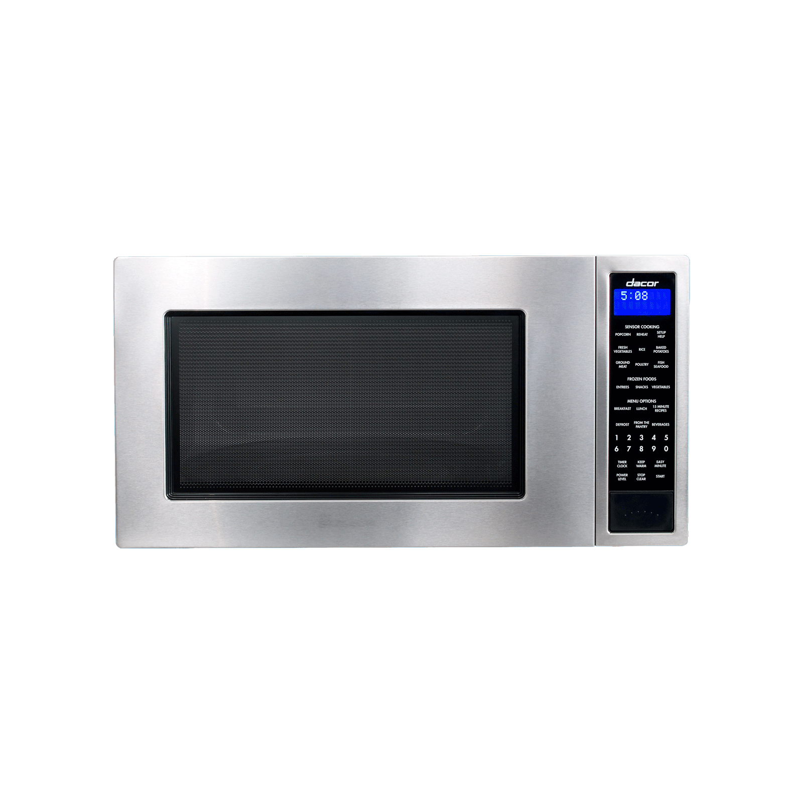 """Dacor Heritage 24"""" Microwave Oven in Black Glass"""