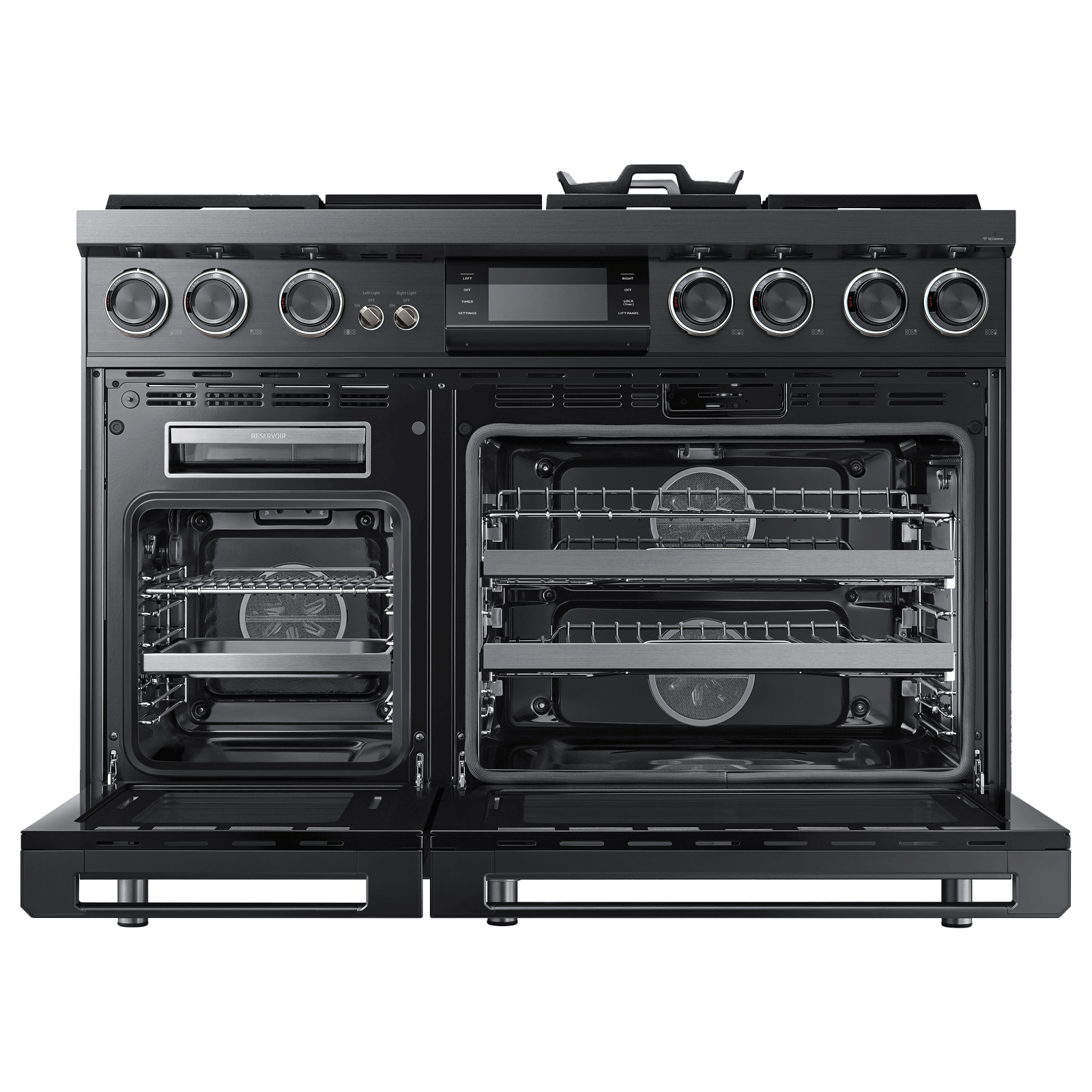 "Model: DOP48M96DPS | Dacor Modernist 48"" Pro Dual-Fuel Steam Range, Stainless Steel, Liquid Propane"