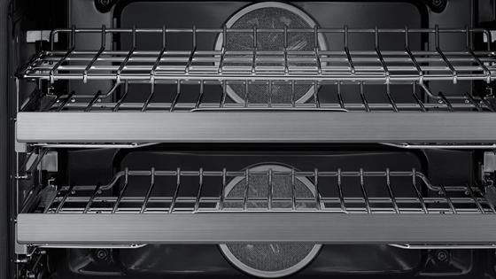 "Model: DOP36M94DLS | Dacor Modernist 36"" Pro Dual-Fuel Steam Range, Stainless Steel, Natural Gas"