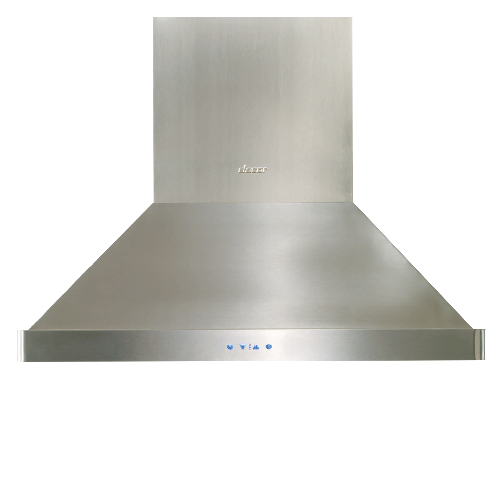 "Dacor Heritage 54"" Island Ceiling-Mounted Hood, in Stainless Steel"