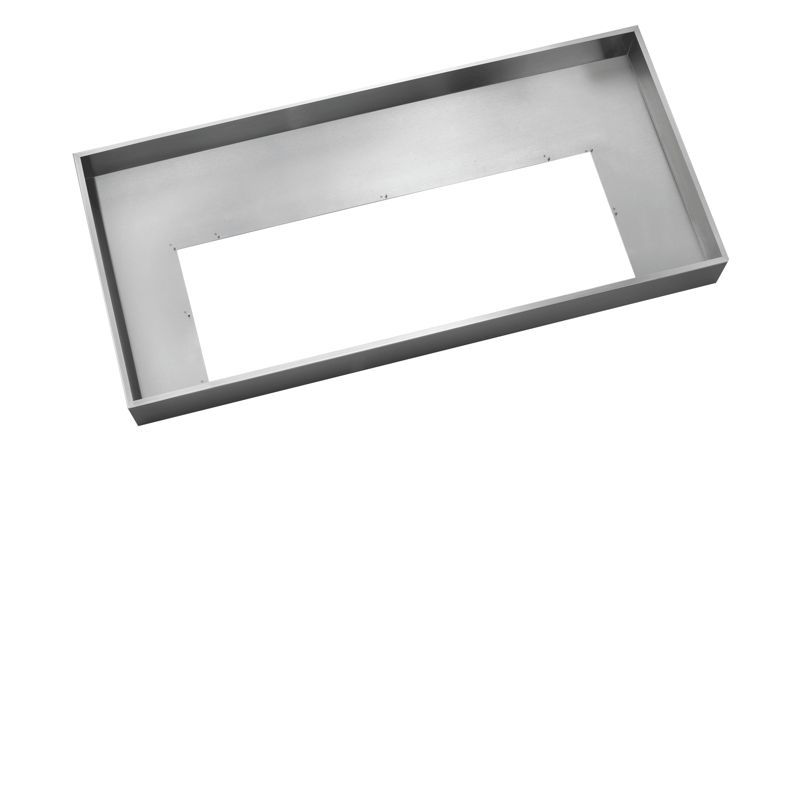 "Dacor Heritage 48"" Integrated Hood Liner, in Stainless Steel for use with RNIVS2 and RNIVSR2"