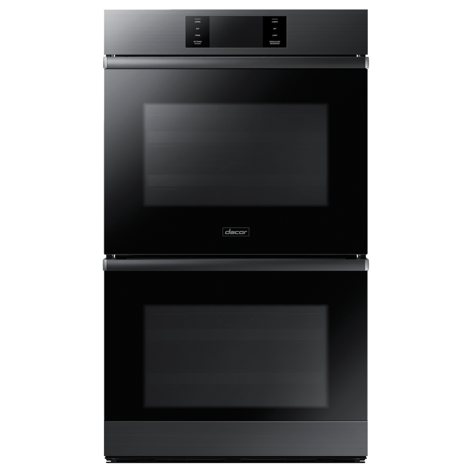 "Dacor Modernist 30"" Steam-Assisted Double Wall Oven, Graphite Stainless Steel"