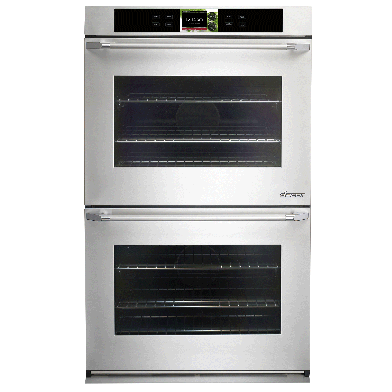 dacor dyo230ps discovery 30 iq double wall oven in stainless rh shopuneedaappliances com dacor oven manual self clean dacor oven manual reset