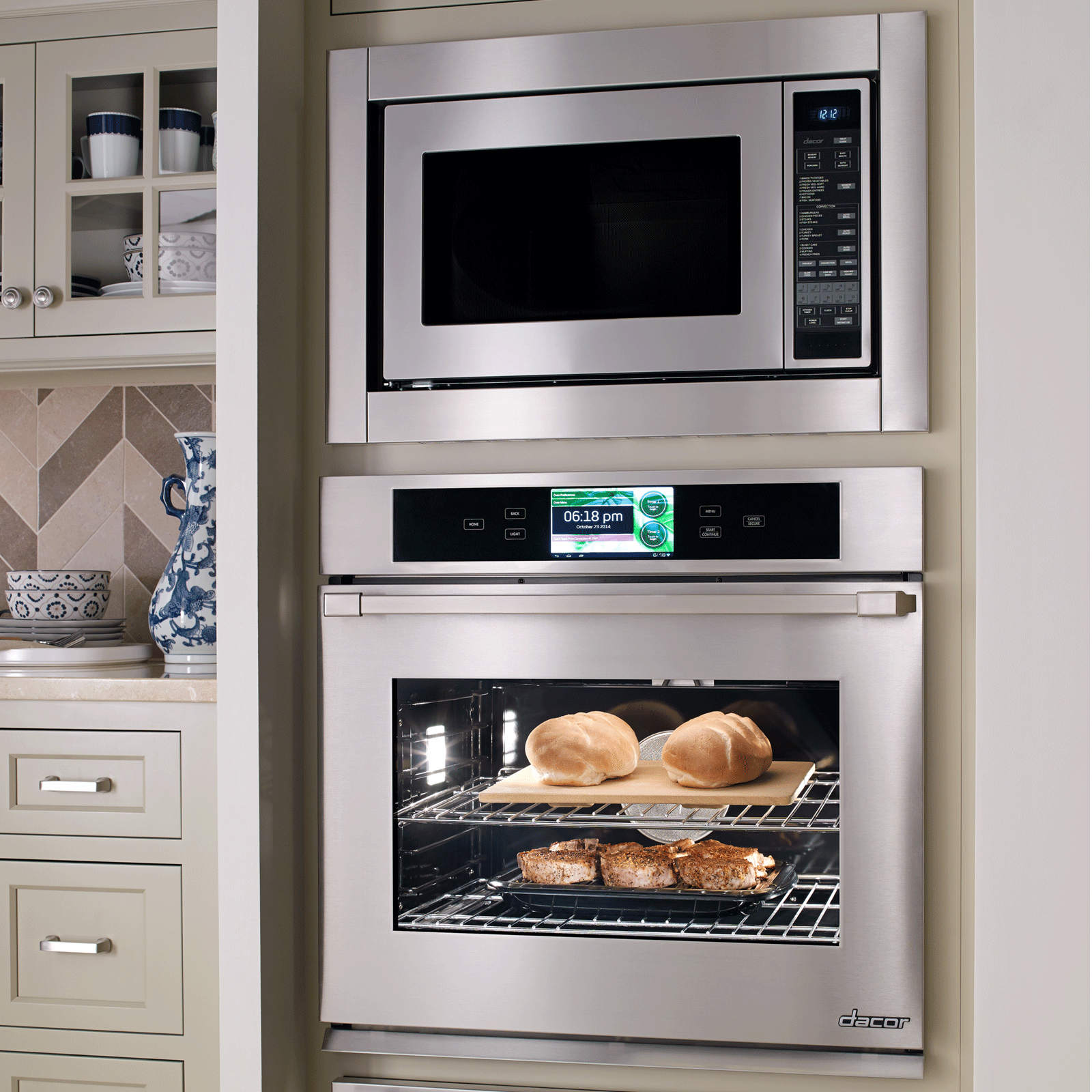 "Model: DCM24S | Dacor  Heritage 24"" Convection Microwave in Stainless Steel"