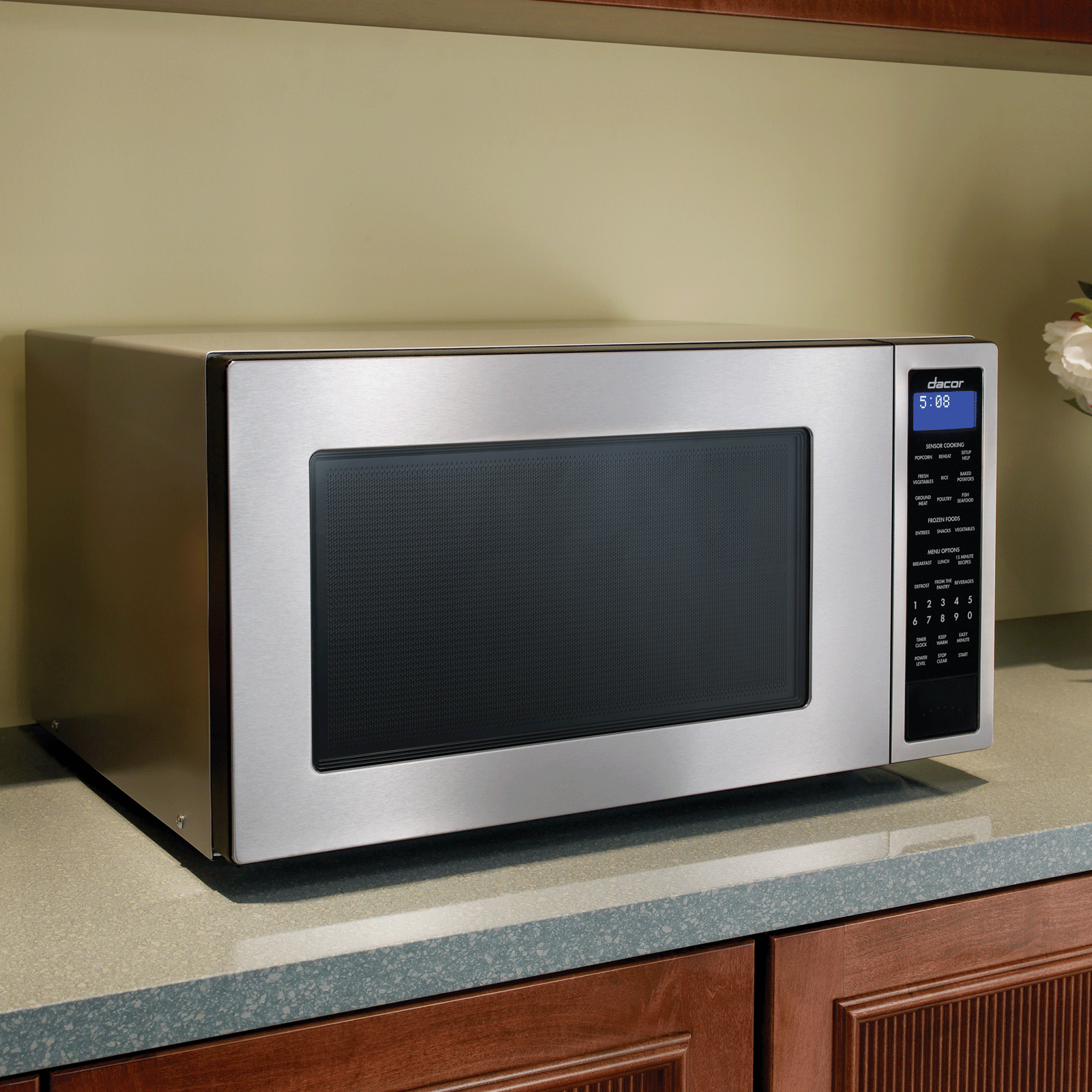 "Dacor Heritage 24"" Microwave Oven in Stainless Steel"