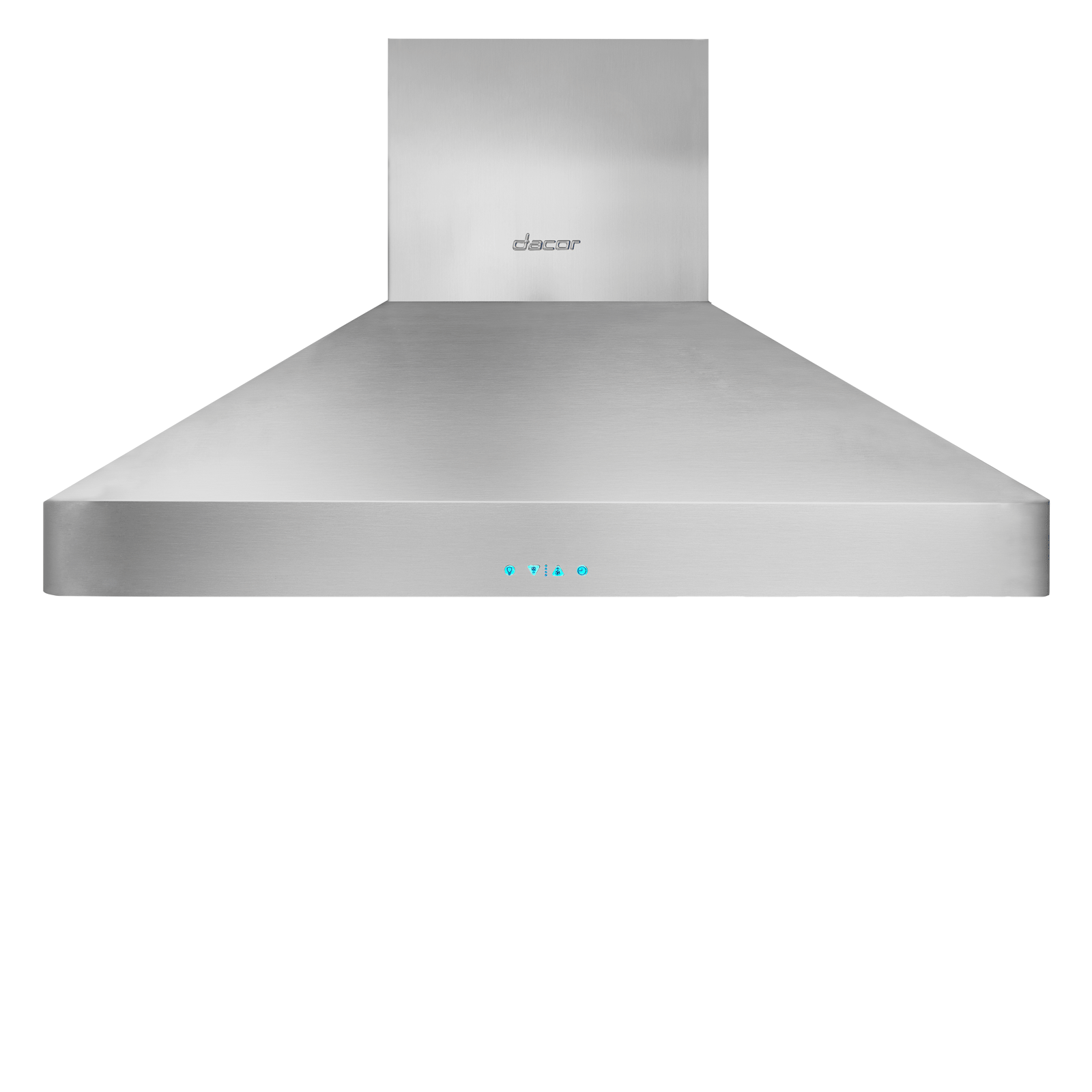 "Model: DHW421 | Dacor Heritage 42"" Chimney Hood, wall-mounted in Stainless Steel"