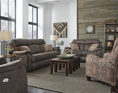 31 - Double Reclining Sofa