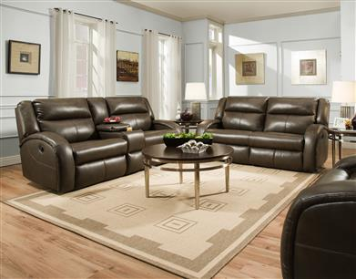 30 - Double Reclining Sofa with 2 Seats