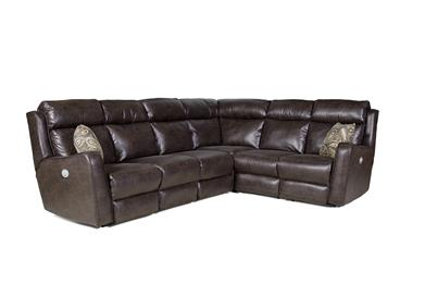 Model: 718 - 55 PIL | Southern Motion 55 PIL - Corner Wedge with 2 Pillows