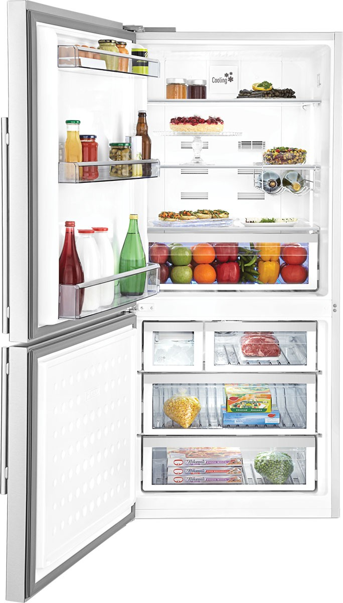 30 Inch Counter Depth Bottom-Freezer Refrigerator