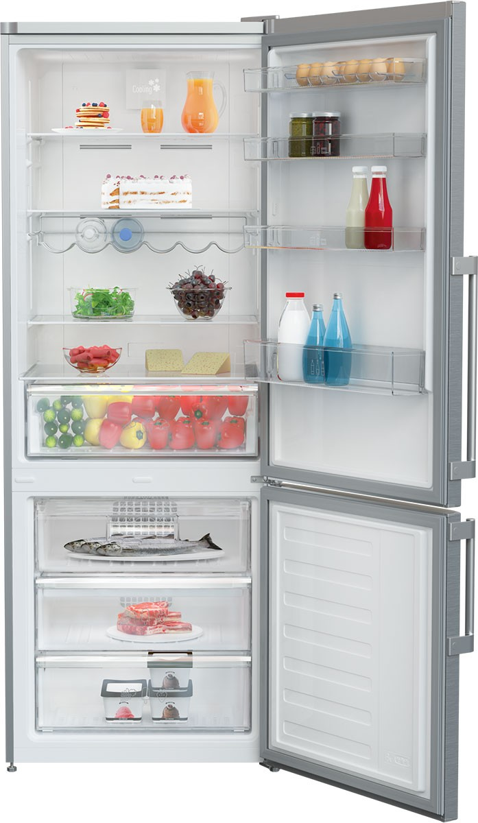 28 Inch Counter Depth Bottom-Freezer Refrigerator