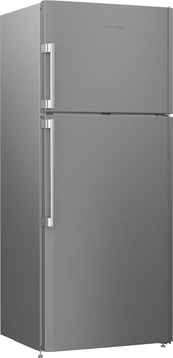 Blomberg 28 Inch Counter Depth Top Freezer Refrigerator