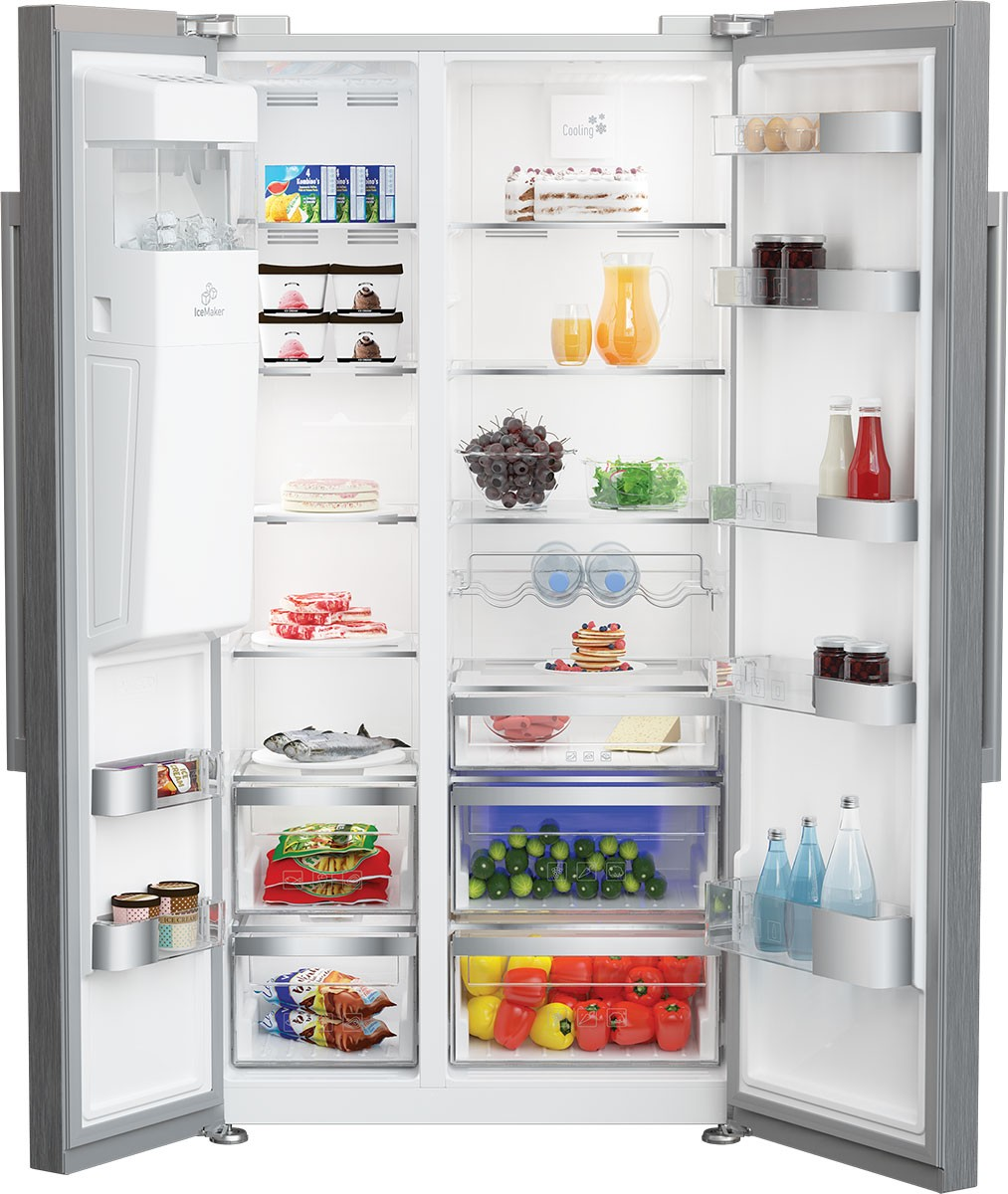 Model: BSBS2230SS | 36 Inch Counter Depth Side-by-Side Refrigerator