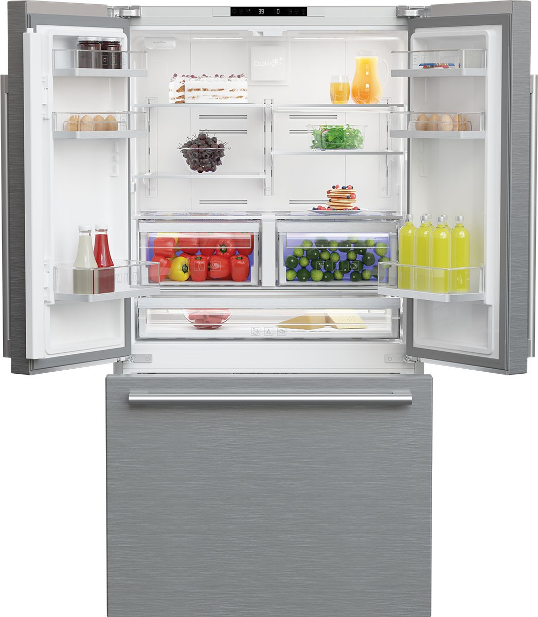 Model: BRFD2230SS | 36 Inch Counter Depth French Door Refrigerator
