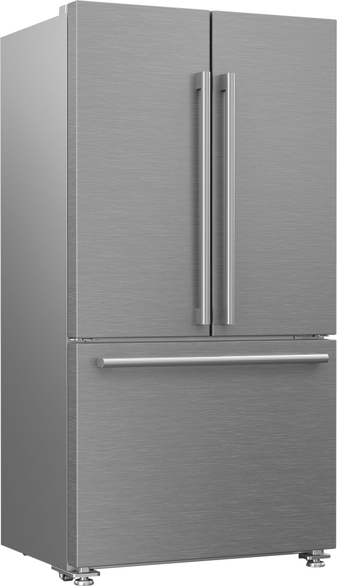 Blomberg 36 Inch Counter Depth French Door Refrigerator