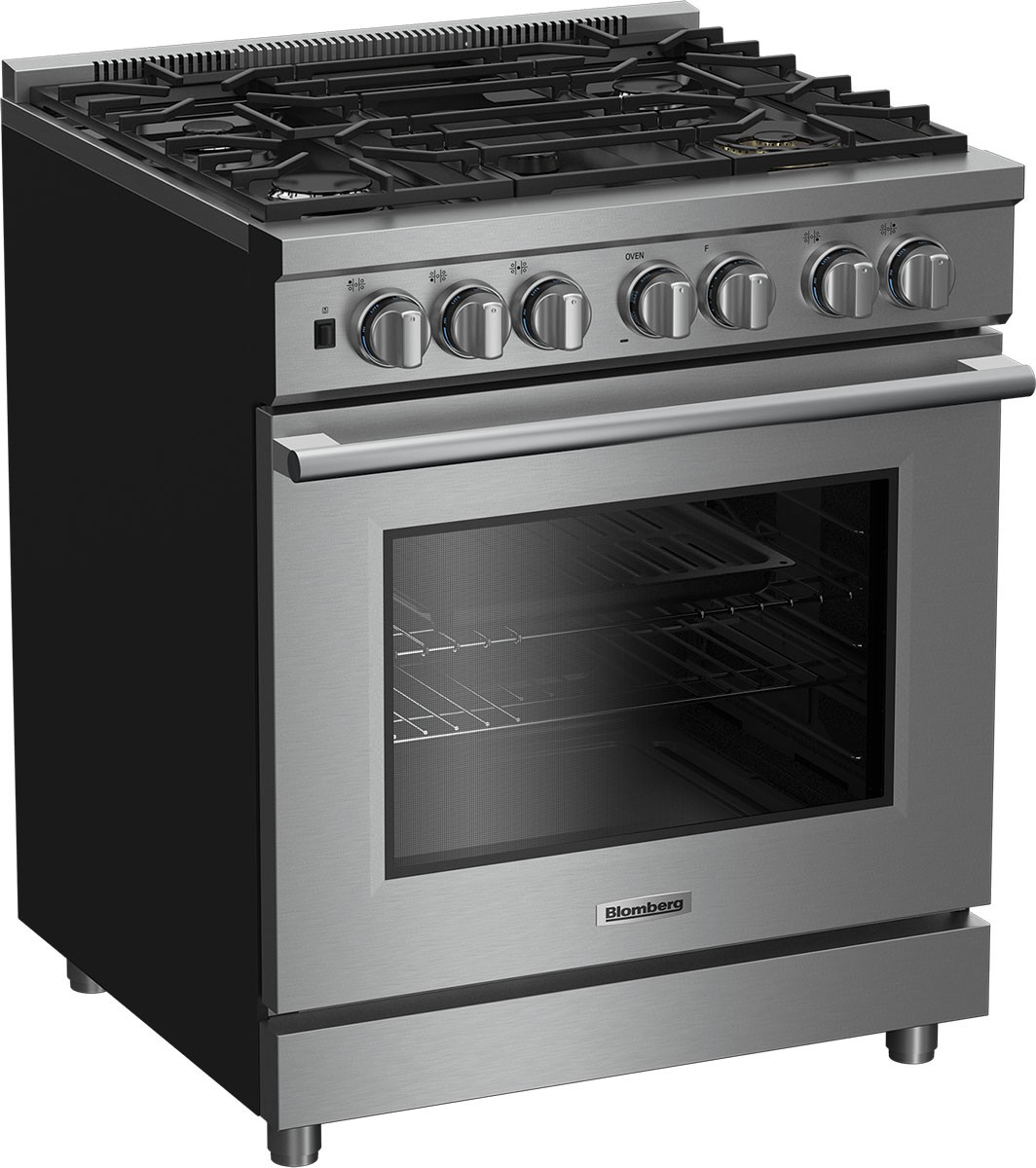 Model: BGRP34520SS | Blomberg 30 Inch Pro-Style Gas Range