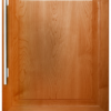 24 Inch Beverage Center with Right Hinge Solid Panel Door
