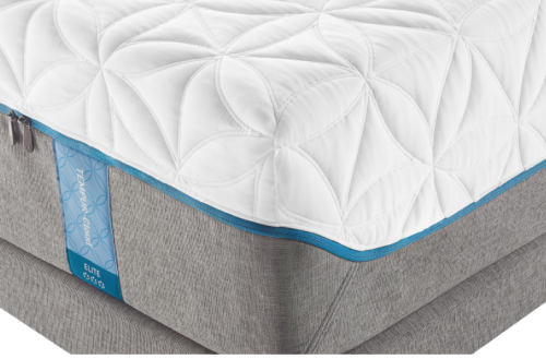 Model: TEMPUR-Cloud Elite-Split CA King | Tempur-pedic Step up to a thicker, even softer TEMPUR® comfort layer and more pressure relief.