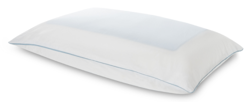 Breeze Dual Cooling Pillow is supportive, with the added benefit of cooling gel on both sides.