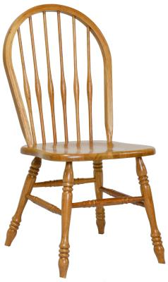 Turned Leg Side Chair