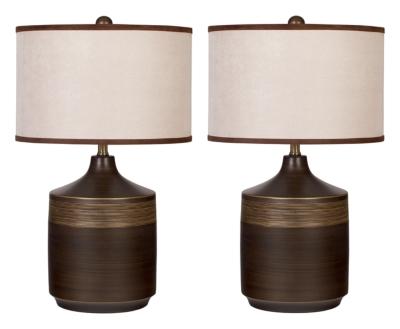 Signature Design by Ashley Ceramic Table Lamp (2/CN)