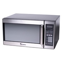 1.1 cu. ft./ Microwave Oven/ 1000W/ Turntable/ Stainless Steel Wrap