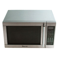 1.3 cu. ft./ Microwave Oven/ 1100W/ Stainless Steel Cavity