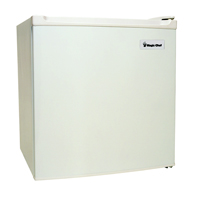1.7 cu. ft. capacity / Manual Defrost / Wire Shelves / Reversible Door