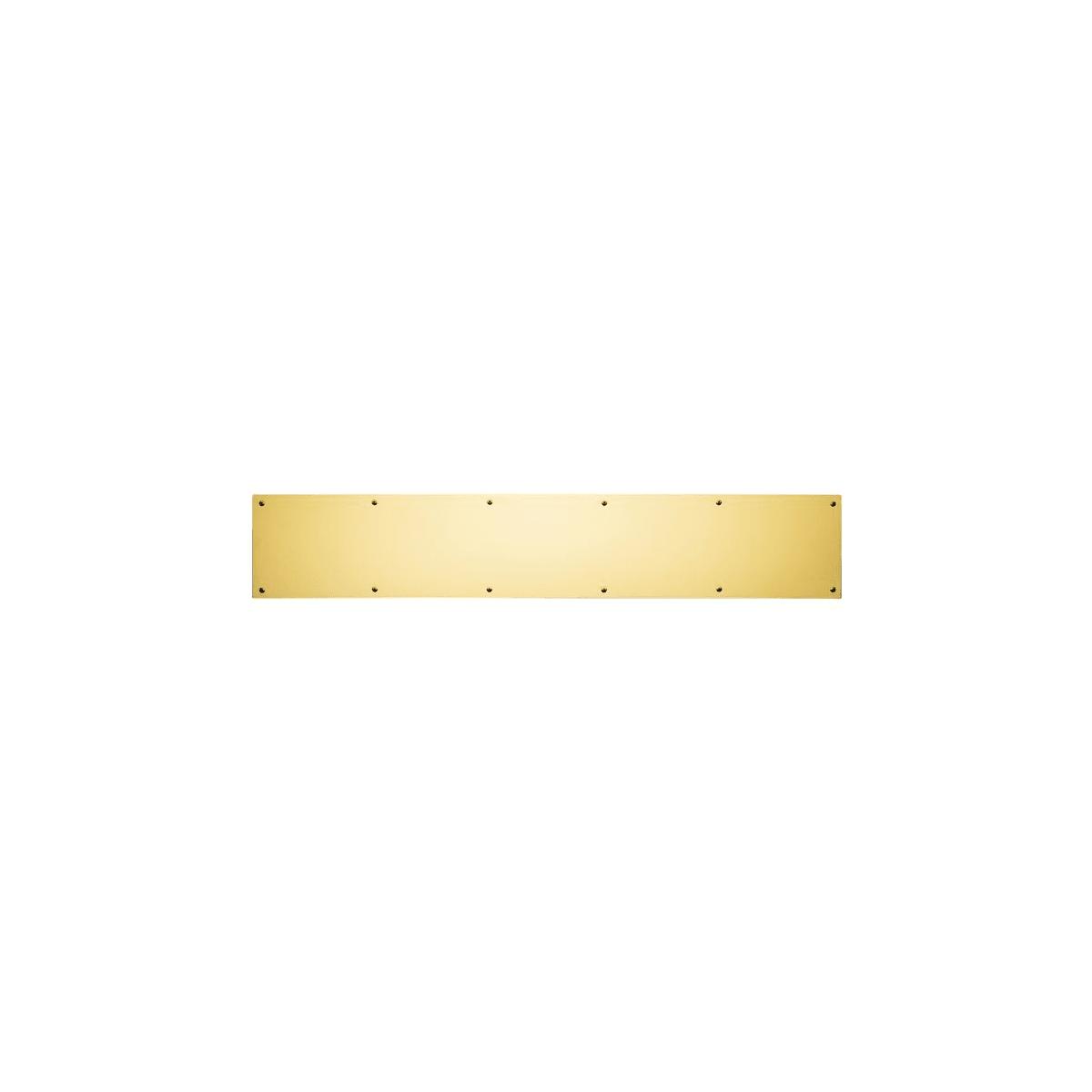 Baldwin 8 Inch x 30 Inch Solid Brass Kick Plate
