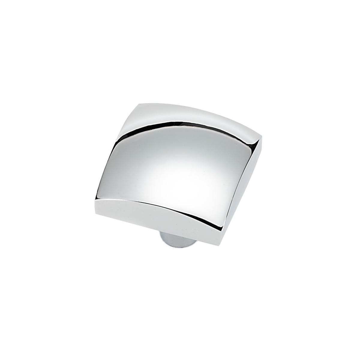 Alno Style Cents 1-1/4 Inch Square Cabinet Knob