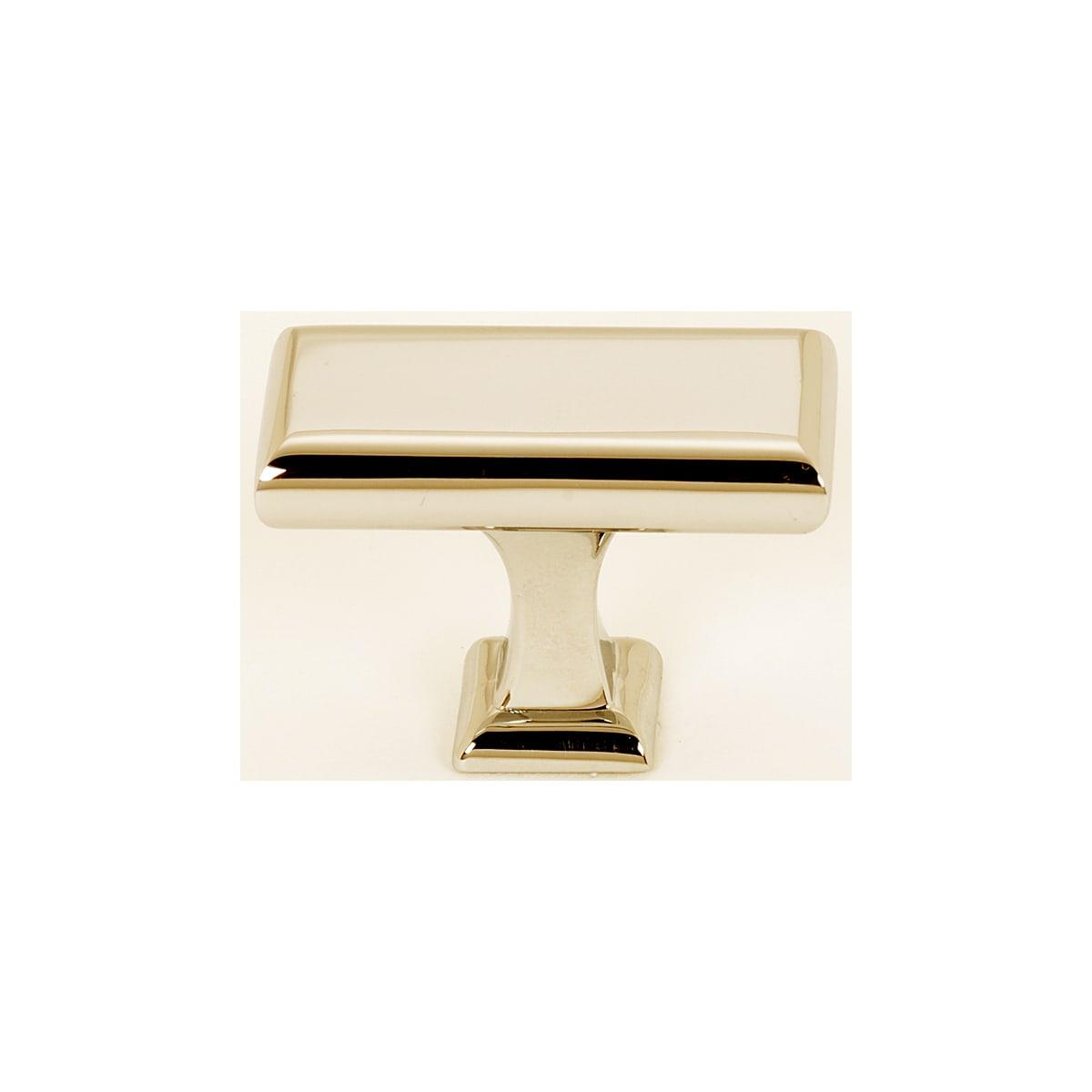 Alno Manhattan 1-5/8 Inch Rectangular Cabinet Knob