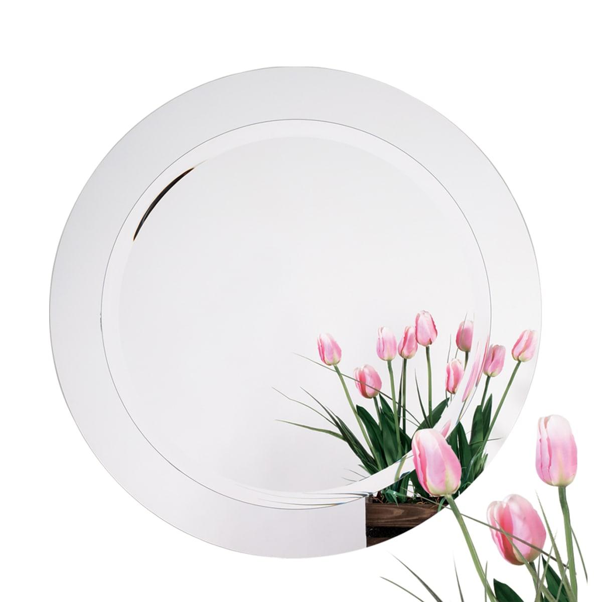 Alno 28 Inch Diameter Frameless Round Mirror