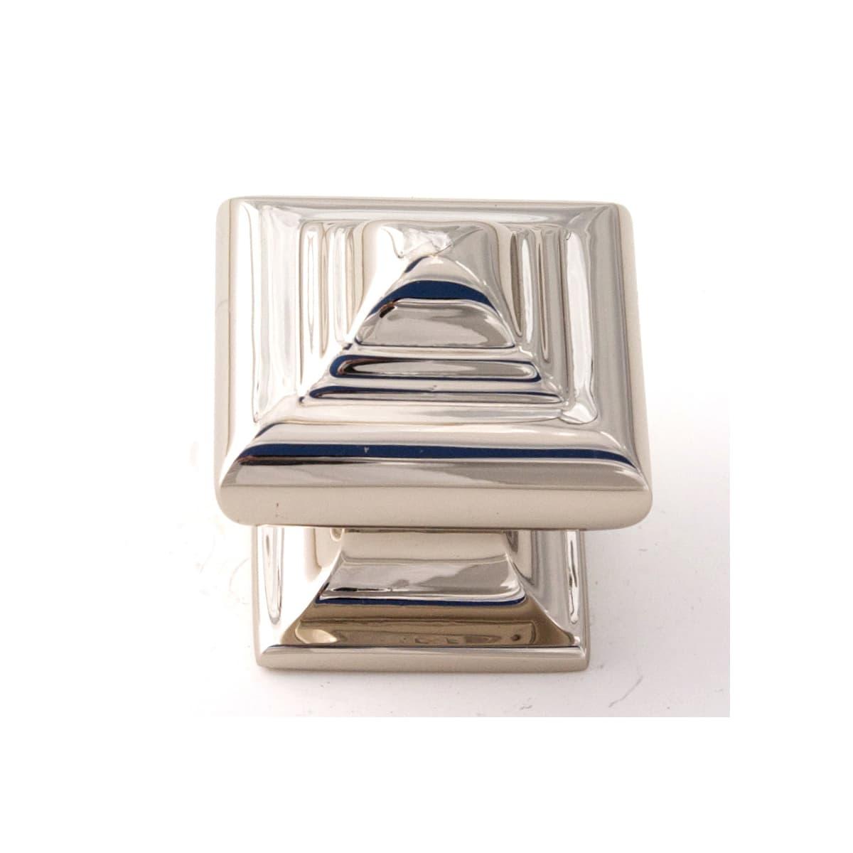 Alno Geometric 1-1/4 Inch Square Cabinet Knob