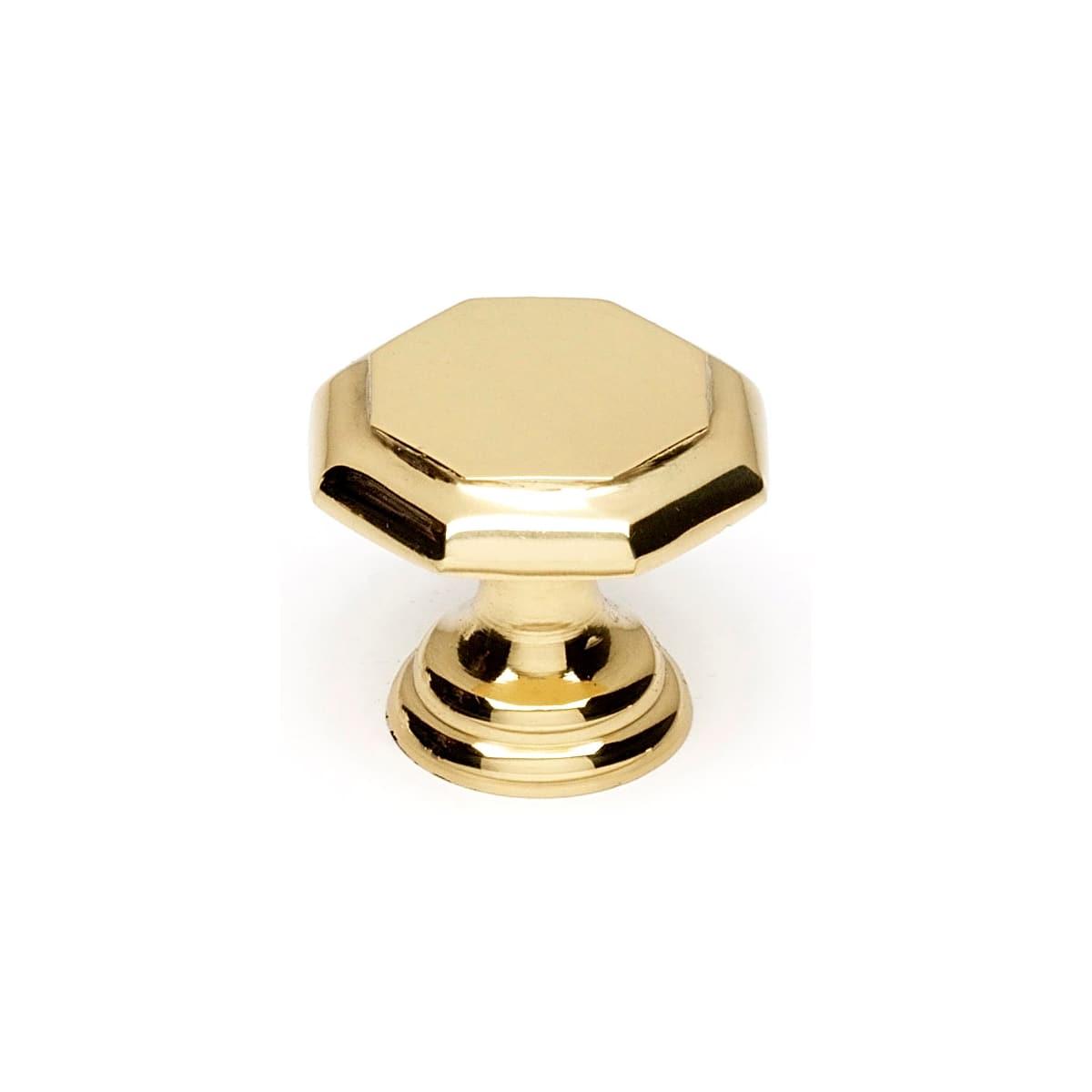 Alno Contemporary 1-1/8 Inch Geometric Cabinet Knob