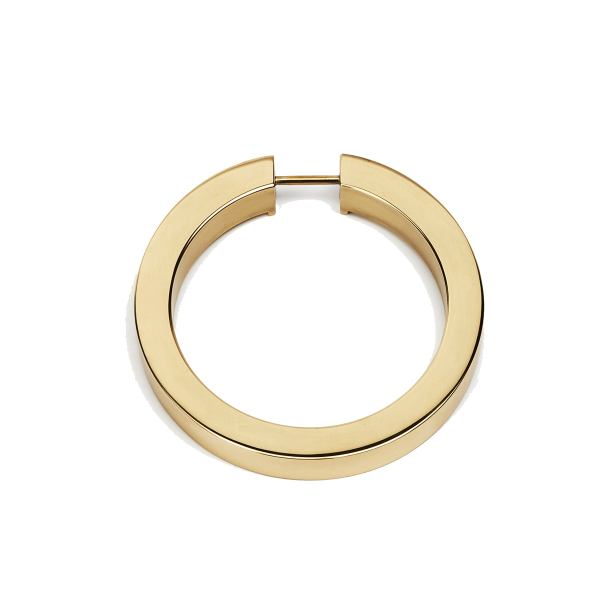 Alno 3-1/2 Inch Wide Round Cabinet Ring Pull - Less Mount