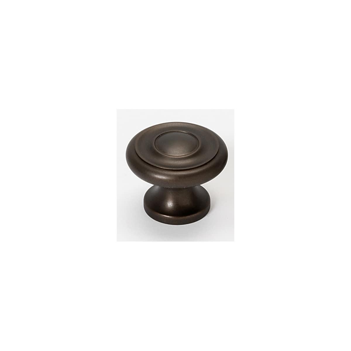 Alno Knobs 1 Inch Mushroom Cabinet Knob