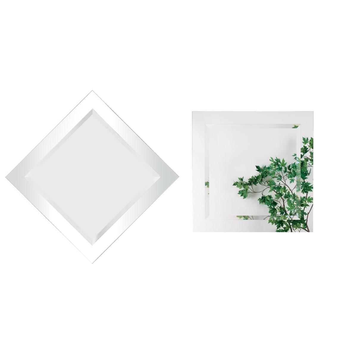 Alno 28 x 28 Inch Frameless Square Mirror