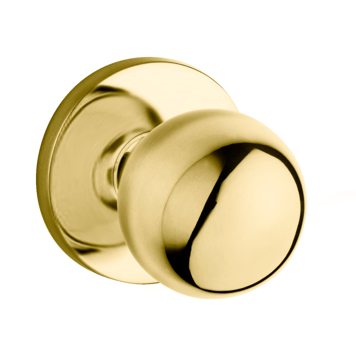Baldwin 5041 Style Privacy Door Knob Set with choice of Medium Rosette from the Estate Collection