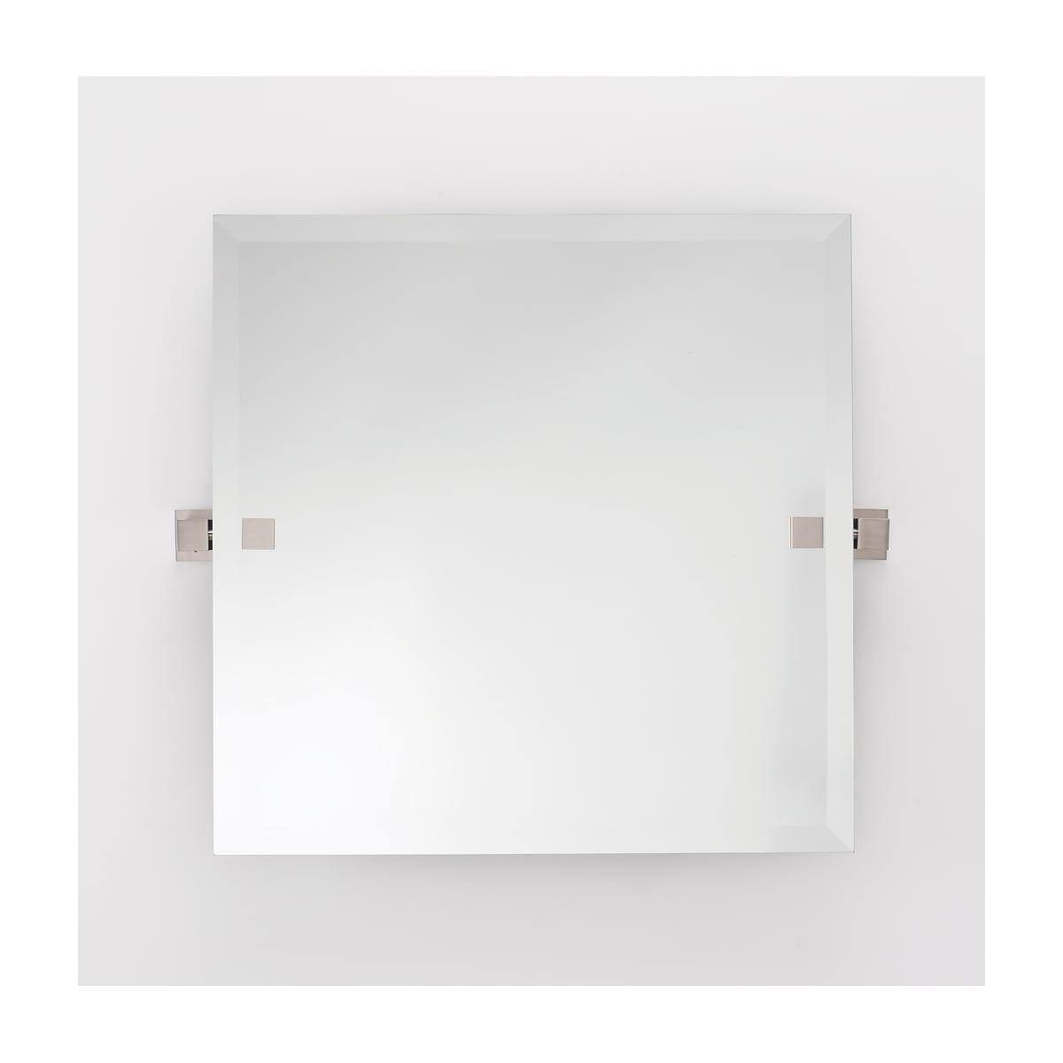 Alno 24 x 24 Inch Frameless Square Mirror