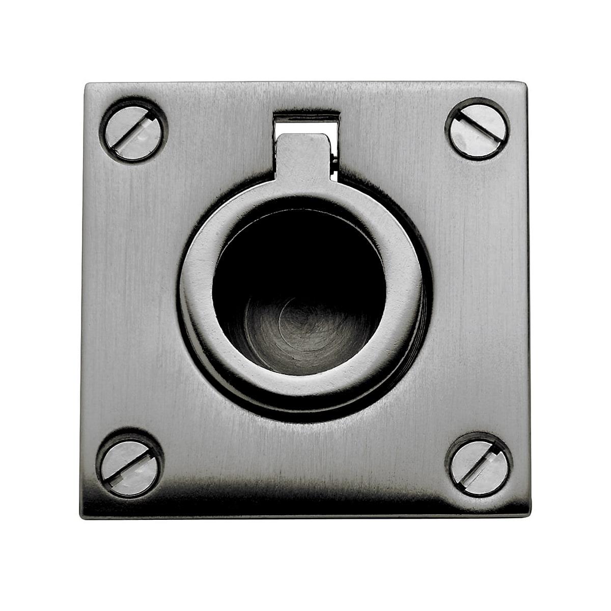 Baldwin 1-5/8 Inch x 1-5/8 Inch Flush Cabinet Pull