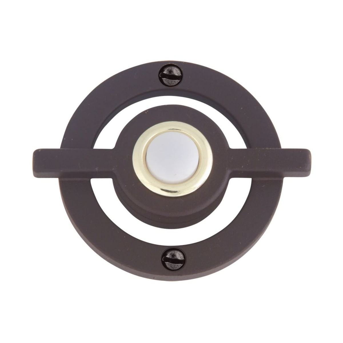 Atlas Modern Avalon 3 Inch Lighted Button Doorbell
