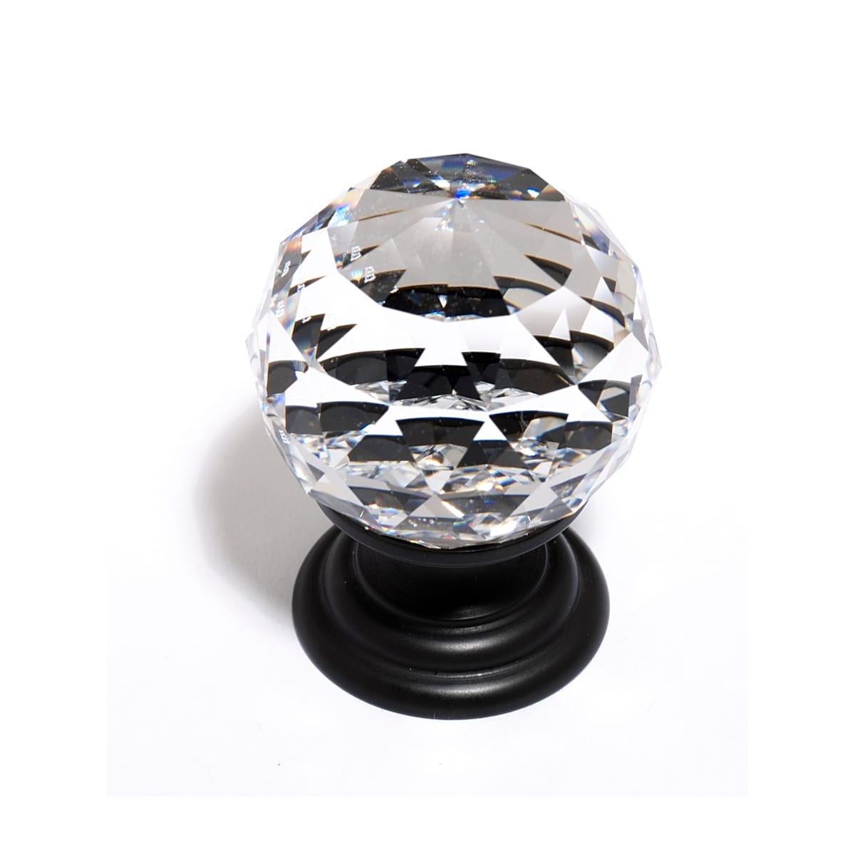 Alno Crystal 1-1/4 Inch Round Cabinet Knob